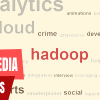 An example how to collect, analyze and visualize social media data with JAQL and Hadoop