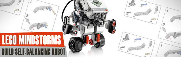 Build your own self-balancing (segway) robot with Lego Mindstorms