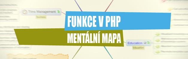 Funkce v PHP – Mentální mapa