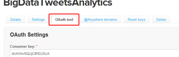 Twitter Screenshot - OAuth tool