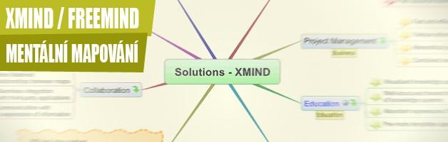 FreeMind/XMind a mentální mapování – uspořádejte si své myšlení