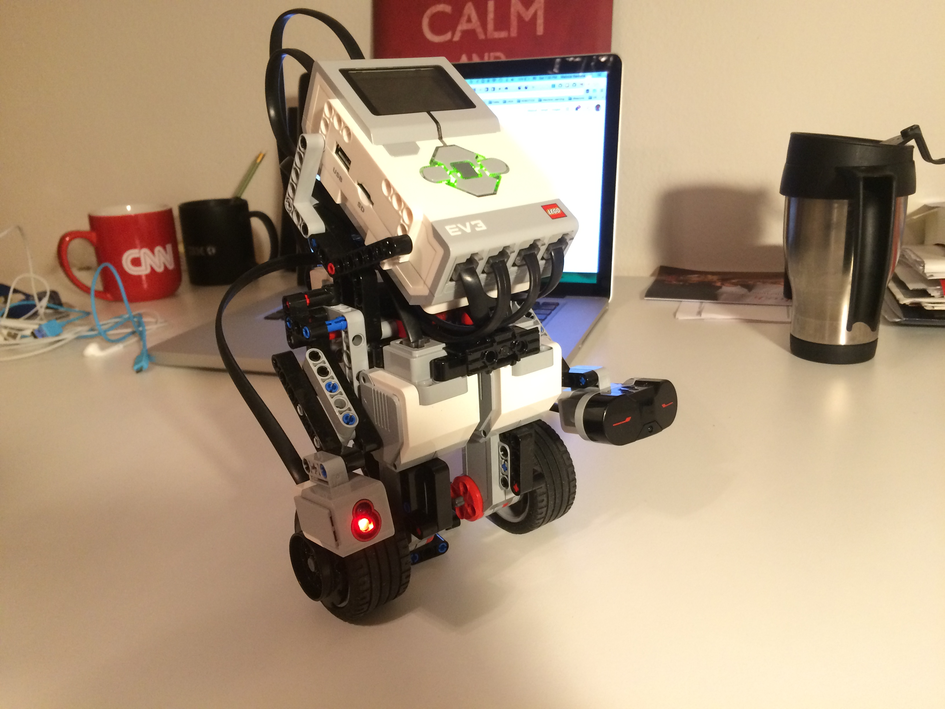 Build Your Own Self Balancing Segway Robot With Lego Mindstorms