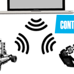 Myo Armband controlling Lego Mindstorm EV3 with hand gestures