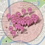 Hledání vzdálenosti GPS souřadnic v MySQL a PHP